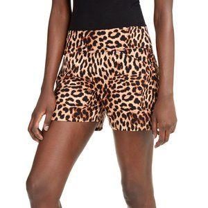 INC Cheetah Shorts sz 10.  New with tag